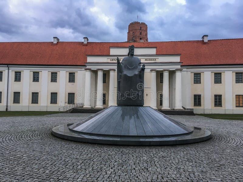 Litouws nationaal Museum royalty-vrije stock foto's