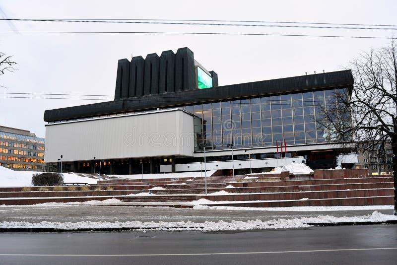 Litouws Nationaal Opera en Ballettheater stock fotografie