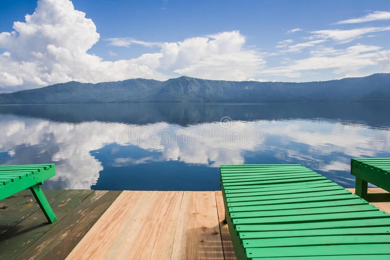 Laguna de Apoyo photographie stock