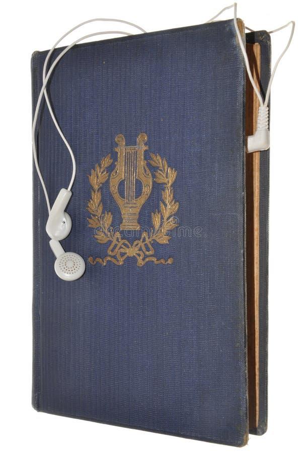 Littérature classique sur les livres sonores image stock