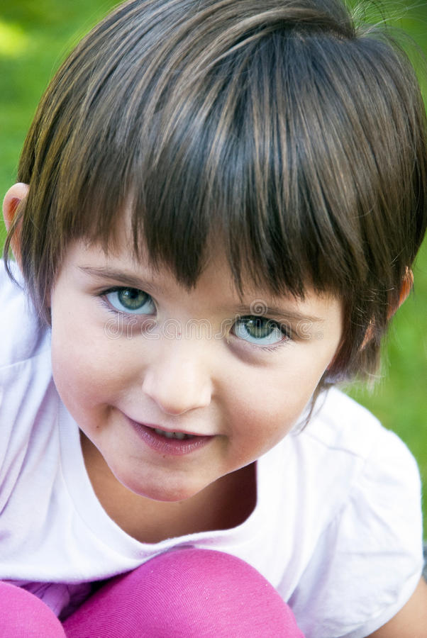 Download Littel girl stock photo. Image of smile, cheerful, eyes - 32431744