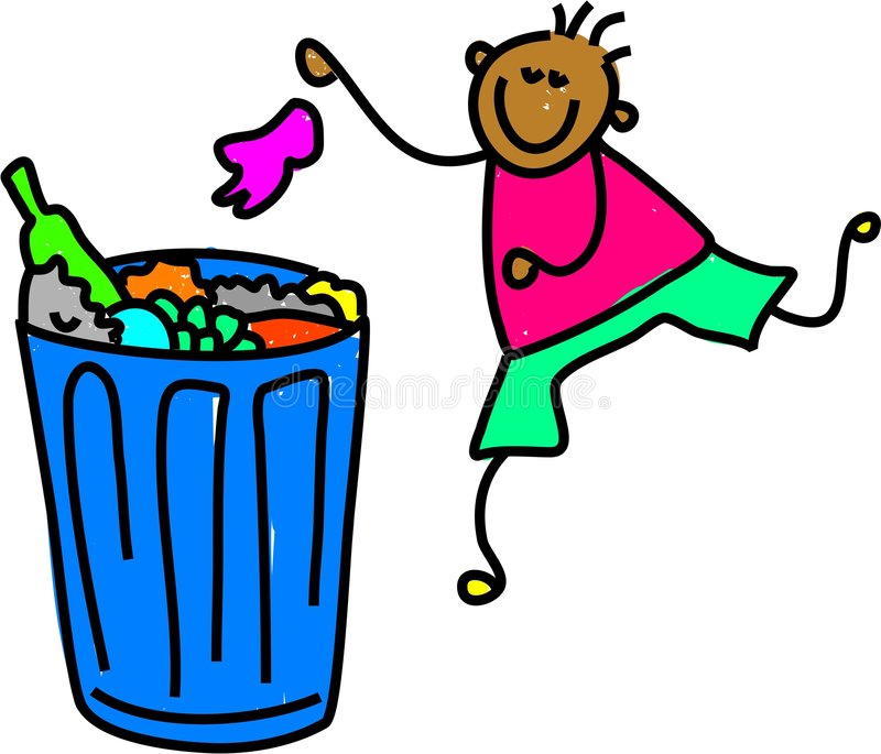 Download Litter boy stock vector. Illustration of cute, rubbish - 2176877