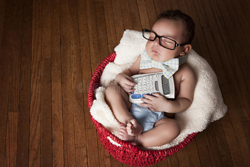 Little Accountant Stock Photo Image Of Blanket Cute