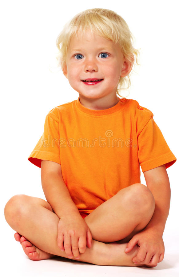 Download Little angel stock image. Image of blonde, little, looking - 10748769
