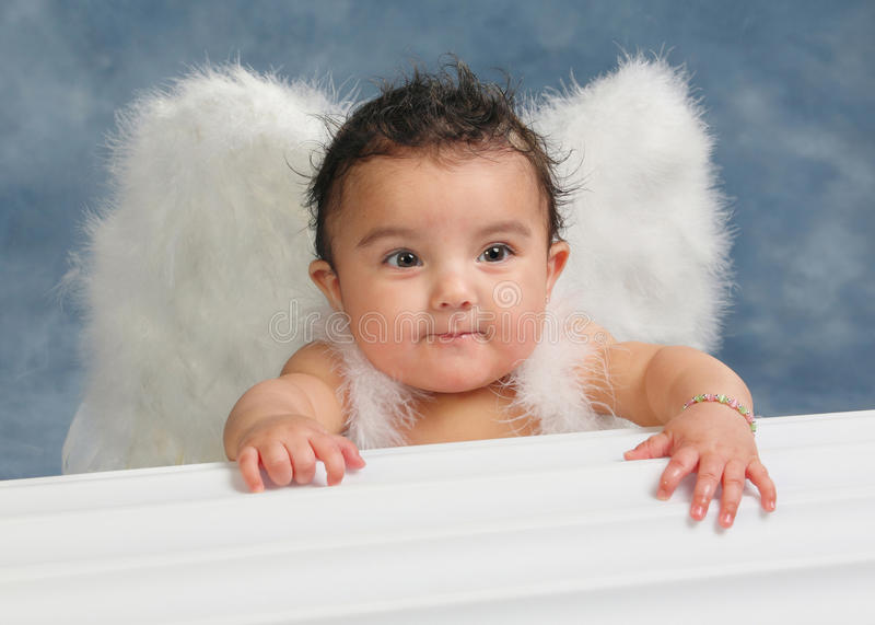 Little angel royalty free stock image