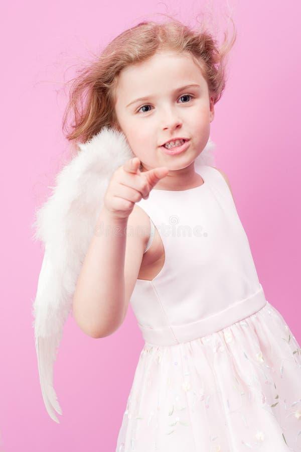 Download Little Angel stock image. Image of adorable, childhood - 16027691