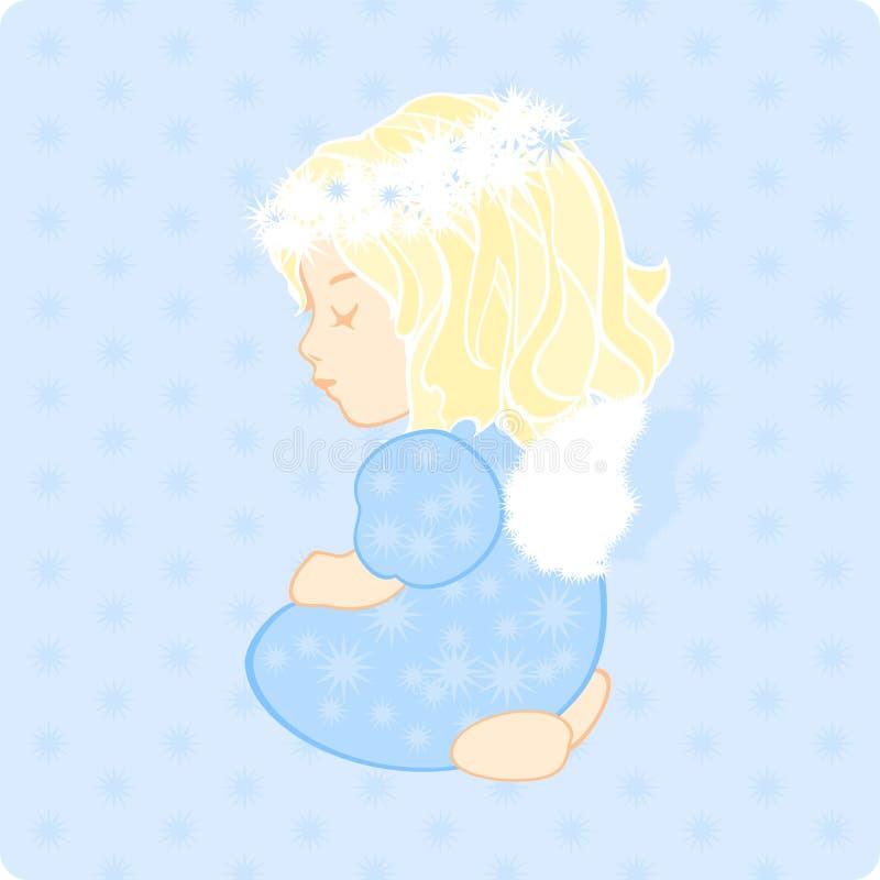 Download Little angel stock vector. Image of small, gentle, angel - 22403397