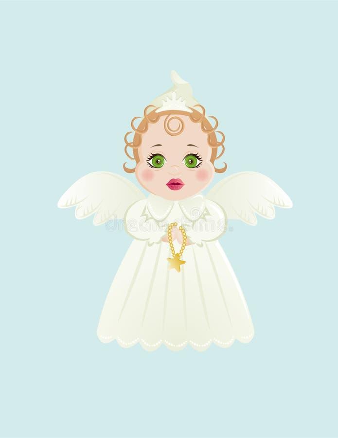 Little angel stock illustration