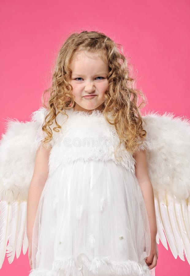 Download Little Angel Girl Stock Photo - Image: 13846510