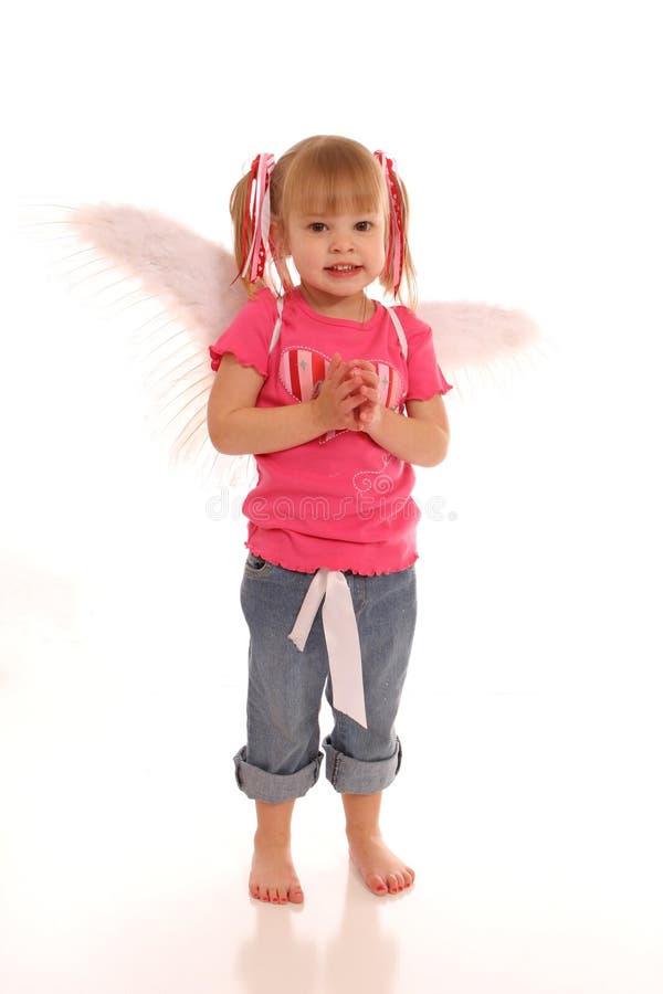 Little Angel Girl1 stock image