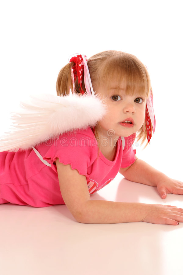 Free Little Angel Girl2 Royalty Free Stock Images - 499859