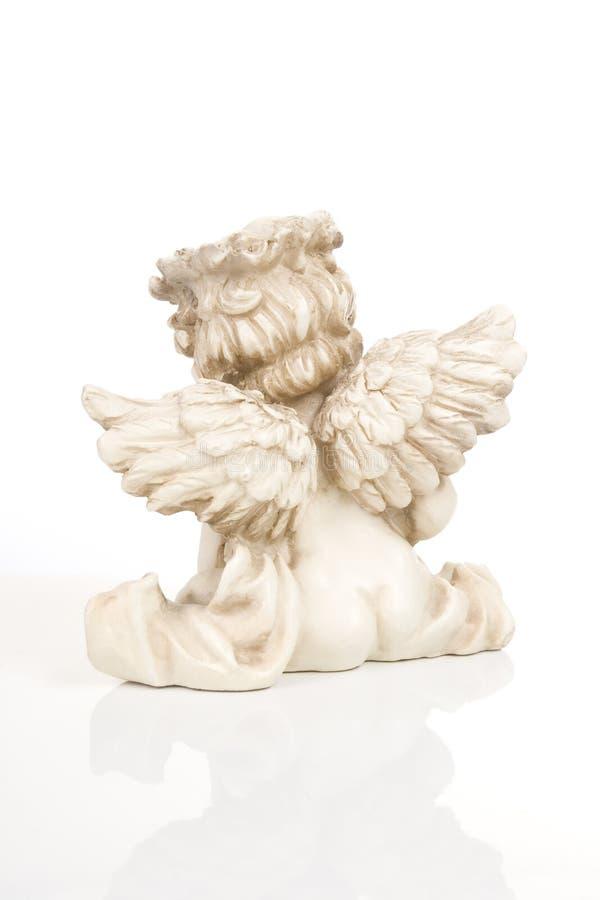 Little angel sculpture stock photos
