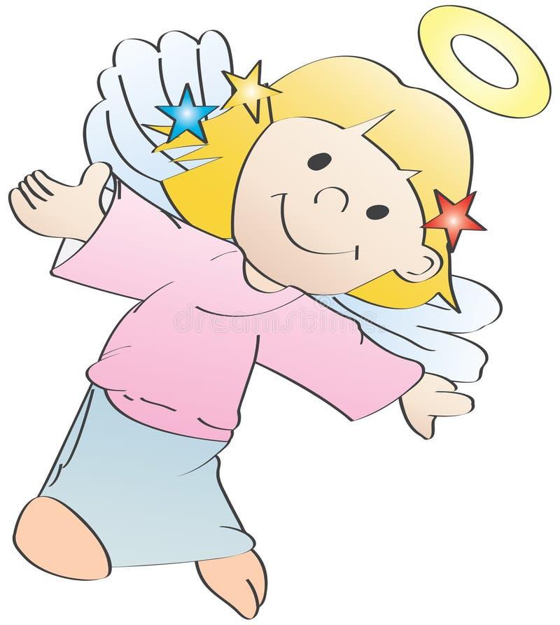 Download Little angel, vector stock vector. Illustration of cartoon - 3813625