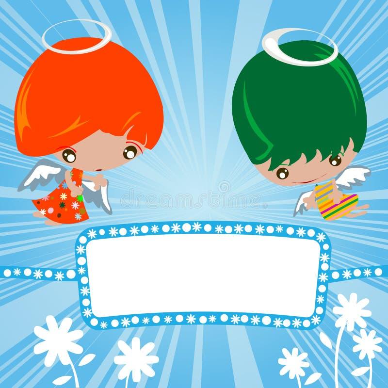 Download Little angels stock vector. Illustration of artwork, design - 13514304