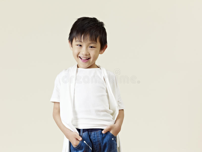 Little asian boy royalty free stock images