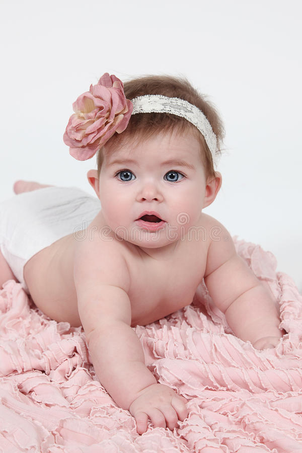 Free Little Baby Girl Royalty Free Stock Photography - 38109387