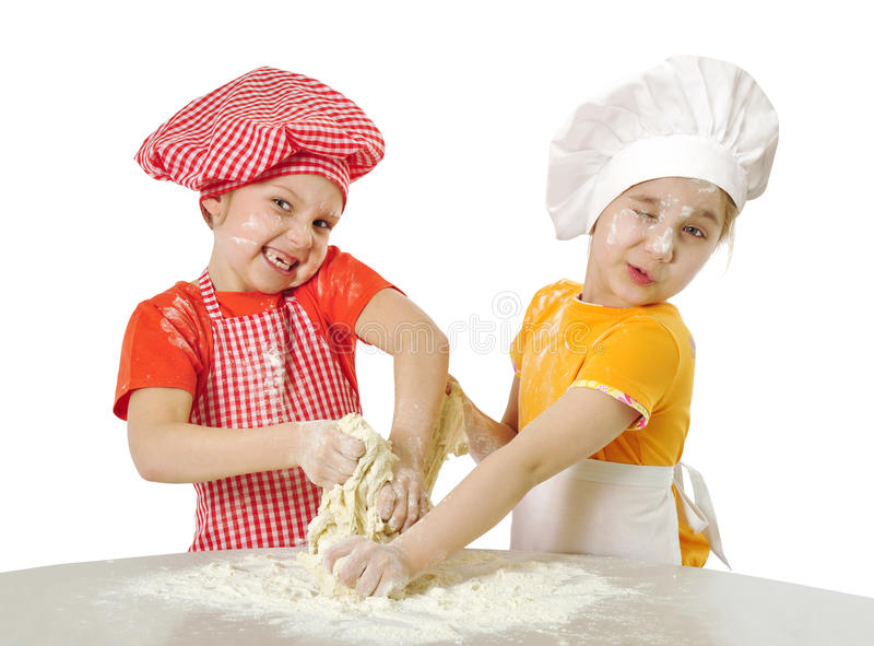 Download Little bakers stock photo. Image of baker, education - 18807514