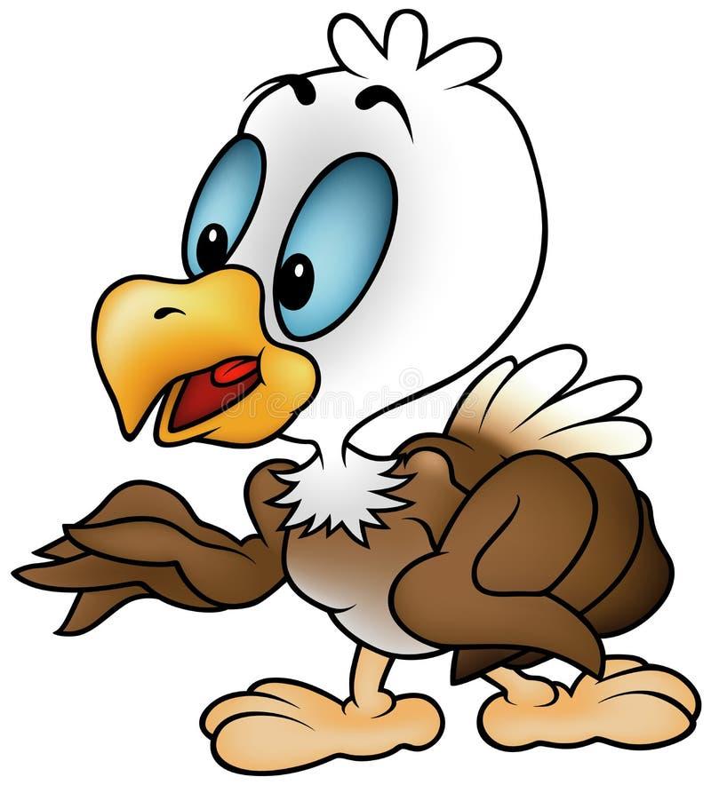 Little Bald Eagle Royalty Free Stock Photos