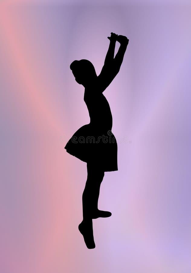Little Ballerina 2 royalty free illustration
