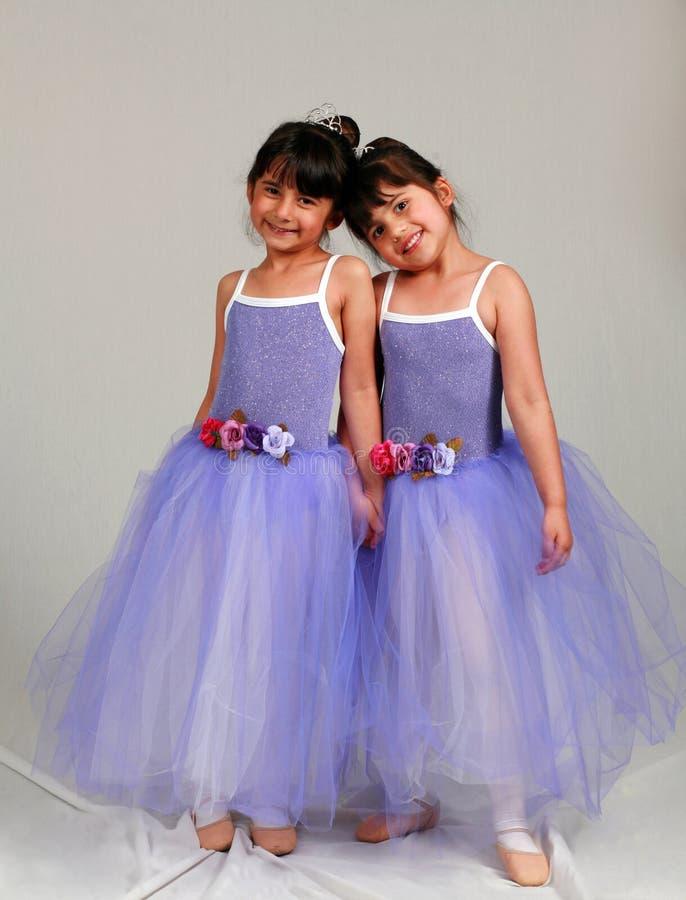 Little Ballerinas royalty free stock image