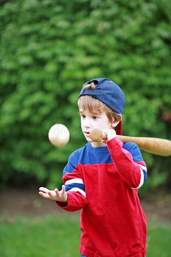 Little Baseball Player stock image