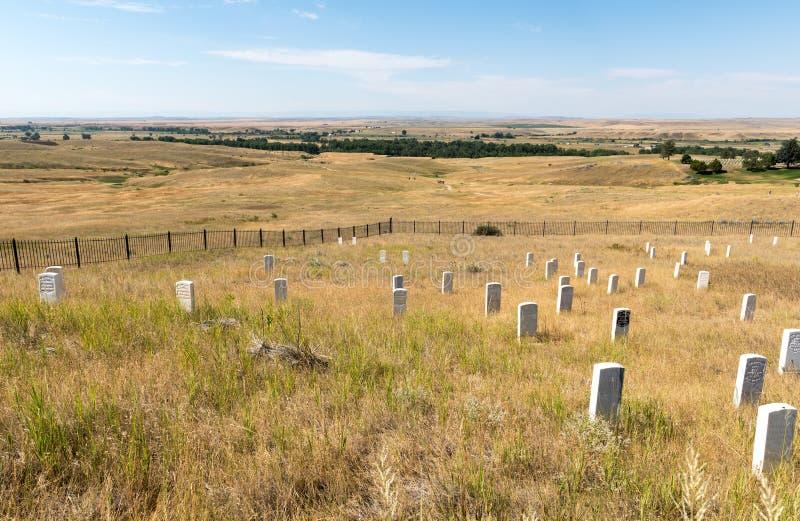 Little Bighorn Montana photographie stock
