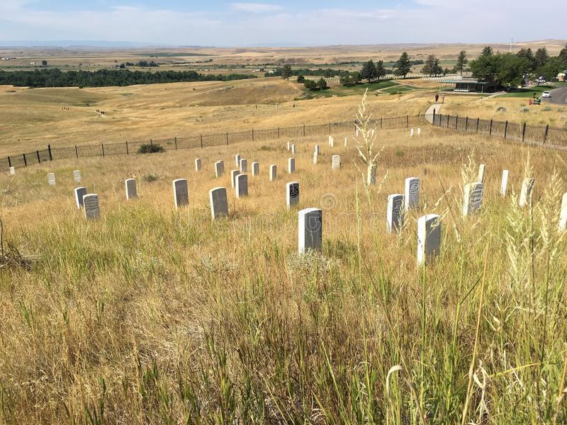 Little Bighorn National Battlefield royalty free stock image
