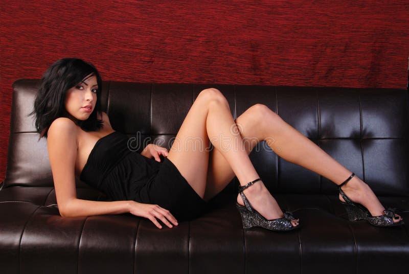 Download Little black dress. stock image. Image of length, black - 7918877