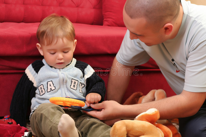 Download Little blond baby boy stock photo. Image of precious, young - 2568298