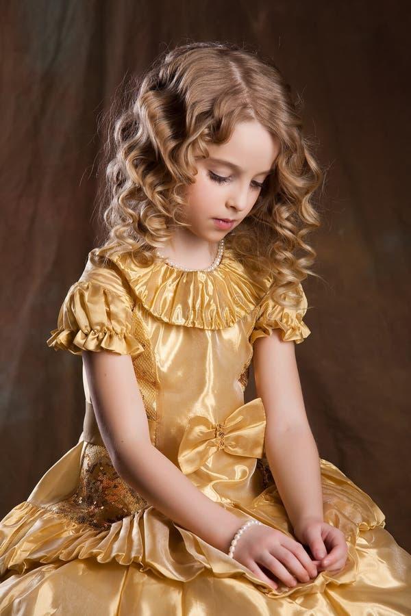 Little Blonde Girl stock image