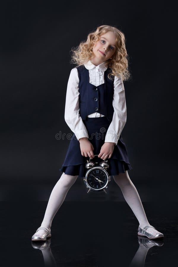 Little Blonde Girl stock images