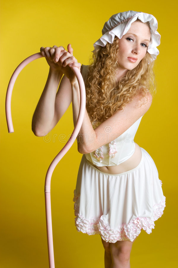 Little Bo Peep Costume stock images