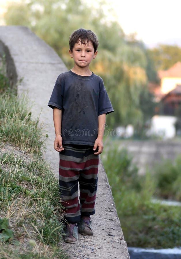 Little boy. A little boy walking down royalty free stock photography