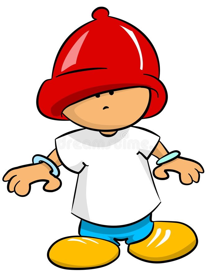 Little Boy ilustração do vetor