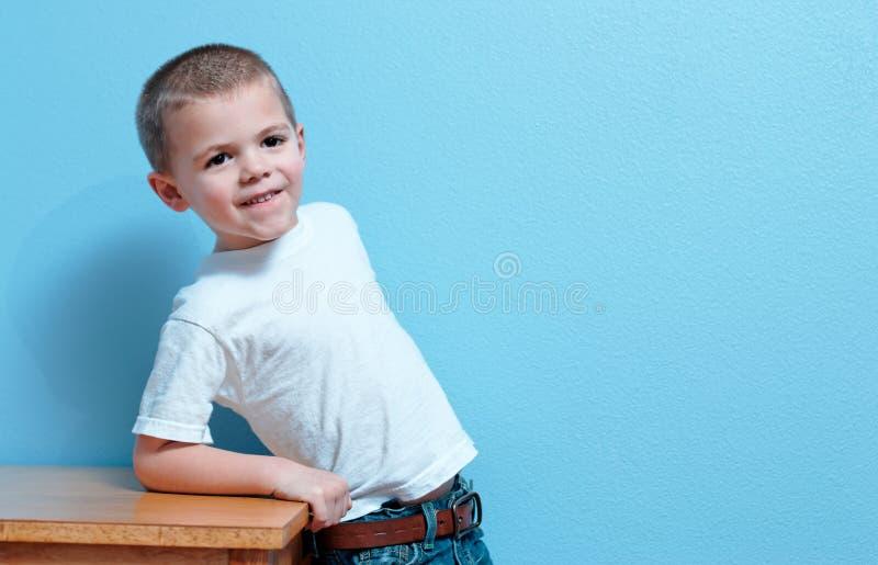 Little Boy imagem de stock