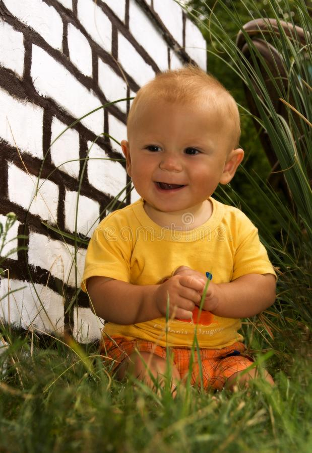 Download Little boy stock image. Image of year, play, smile, outdoors - 26273655