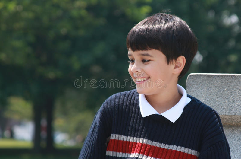 Little Boy beau photos stock