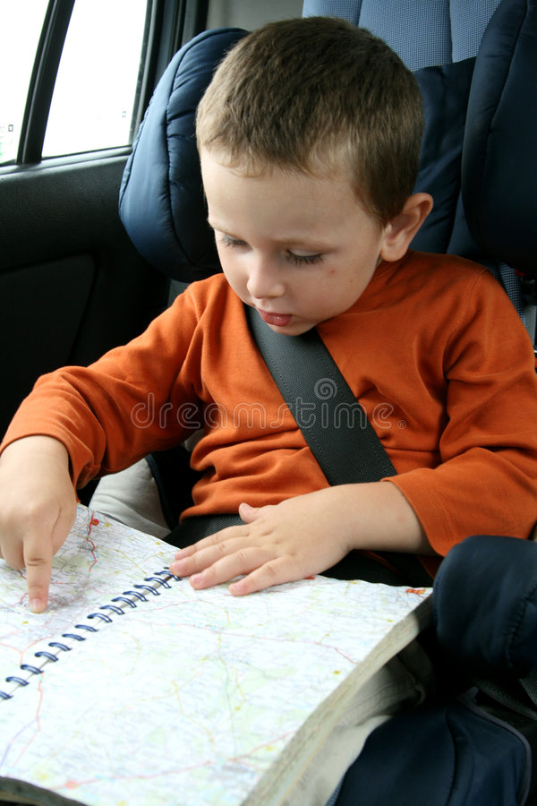 Download Little boy in car stock photo. Image of protect, face - 2891210