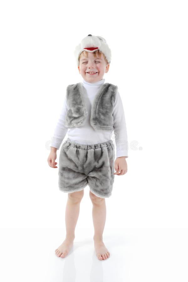 Download Little Boy In Costumes Hare Stock Photos - Image: 18758903