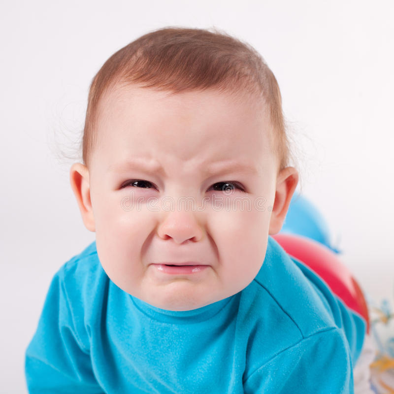 Free Little Boy Crying Royalty Free Stock Images - 18238849