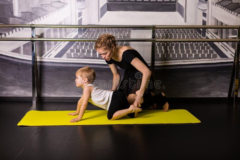 Little boy dancer stock photography