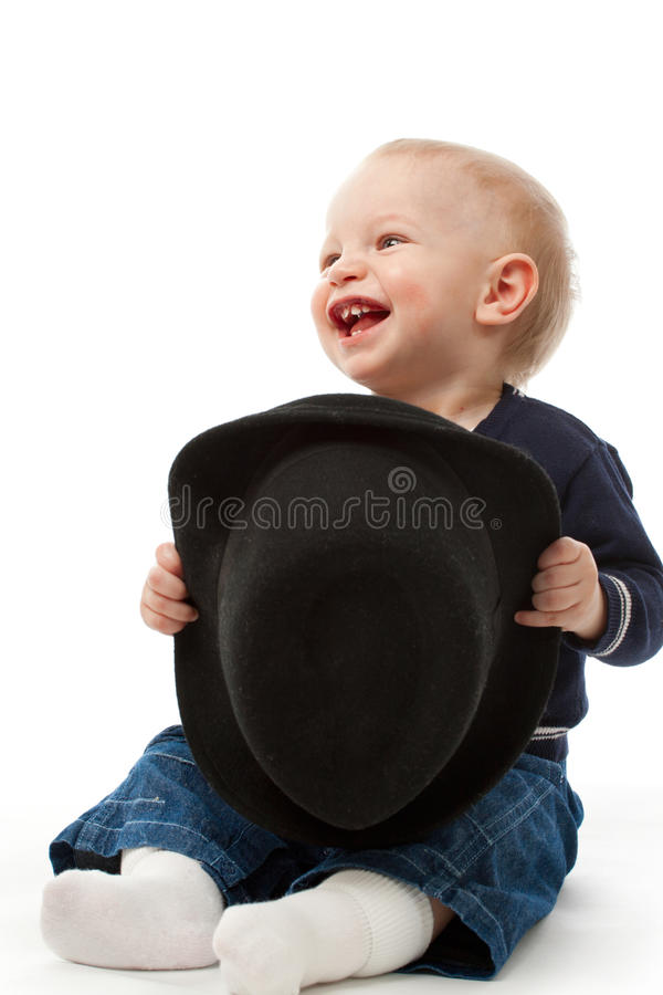 Download Little Boy With Hat Stock Photos - Image: 23946593
