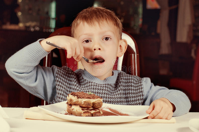Kid Eating Cake Free