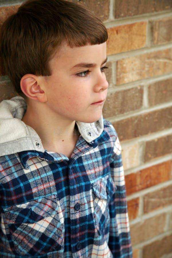 Little boy with long eyelashes royalty free stock photography
