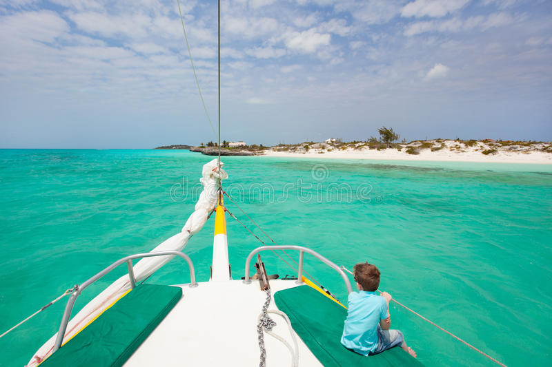 Download Little Boy At Luxury Yacht Stock Photography - Image: 25371462