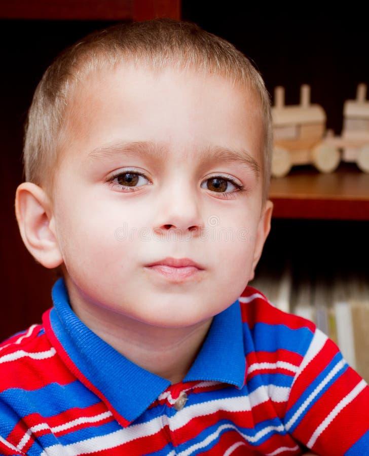 Download Little boy portrait stock photo. Image of portrait, young - 20562510