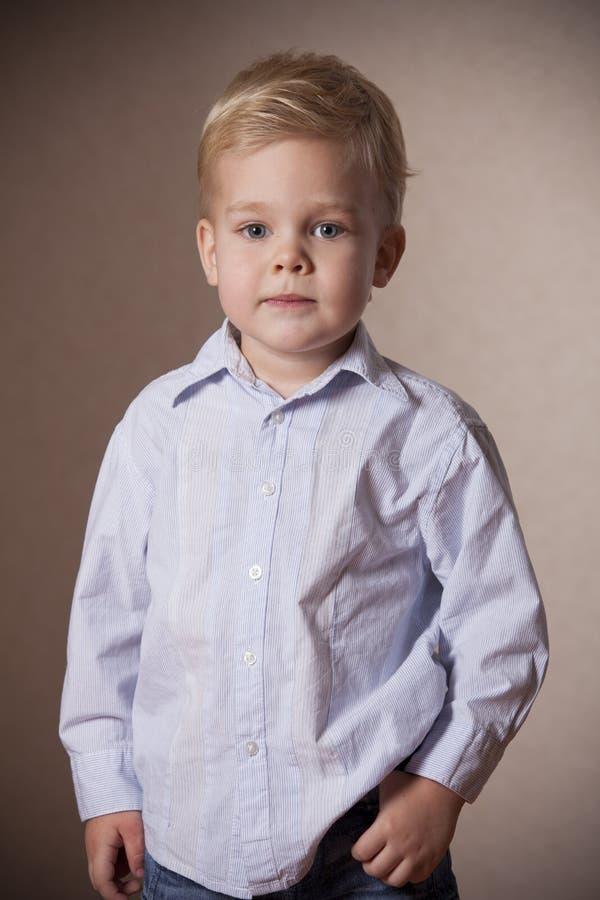 Download Little Boy Portrait stock image. Image of childhood, family - 28575305