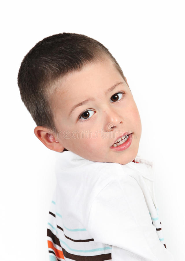 Download Little Boy Posing With Smile Stock Photo - Image: 22866838