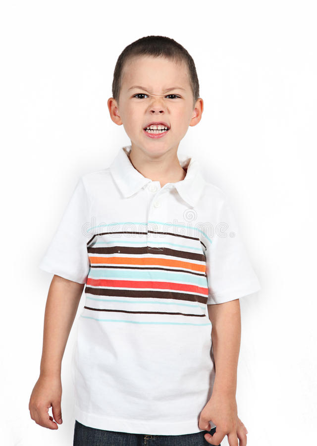 Download Little Boy Posing With Smile Stock Photo - Image: 22866852