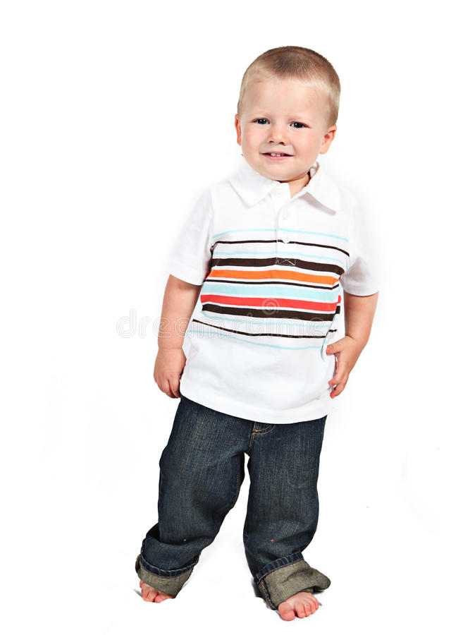 Download Little Boy Posing With Smile Stock Image - Image: 22866913